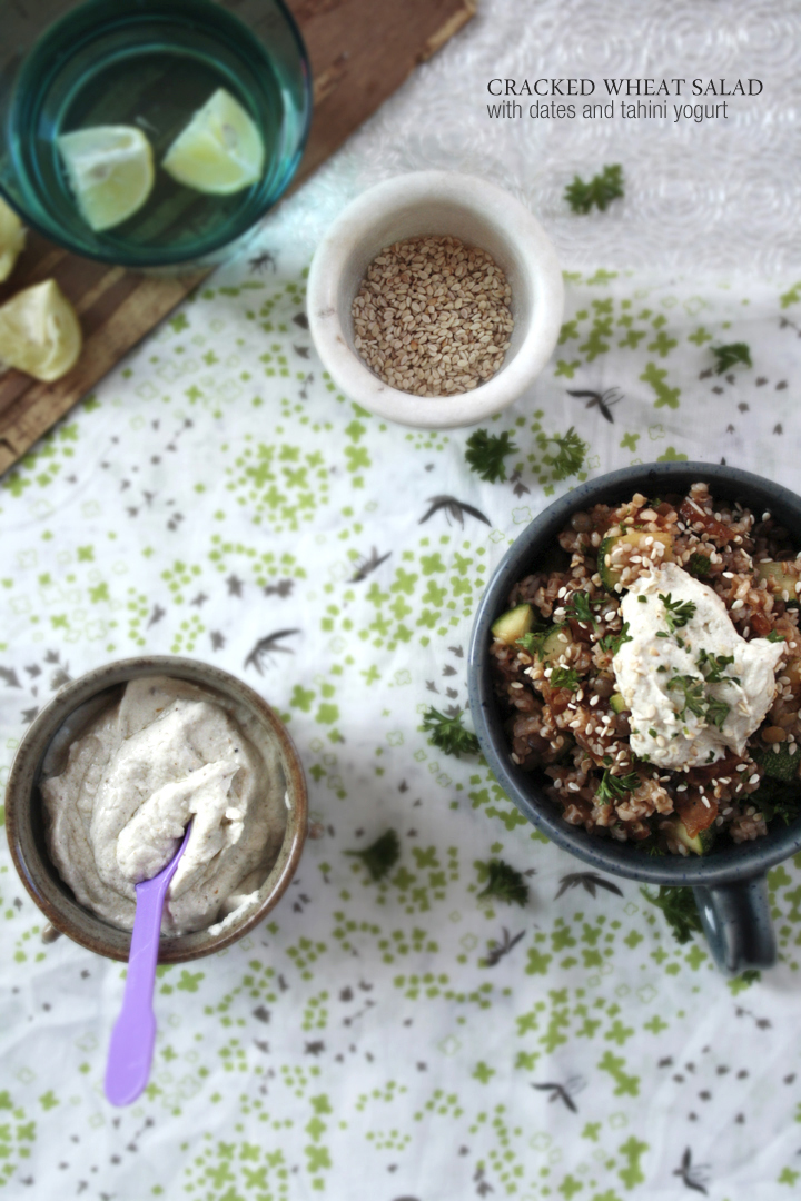 how to make cracked wheat