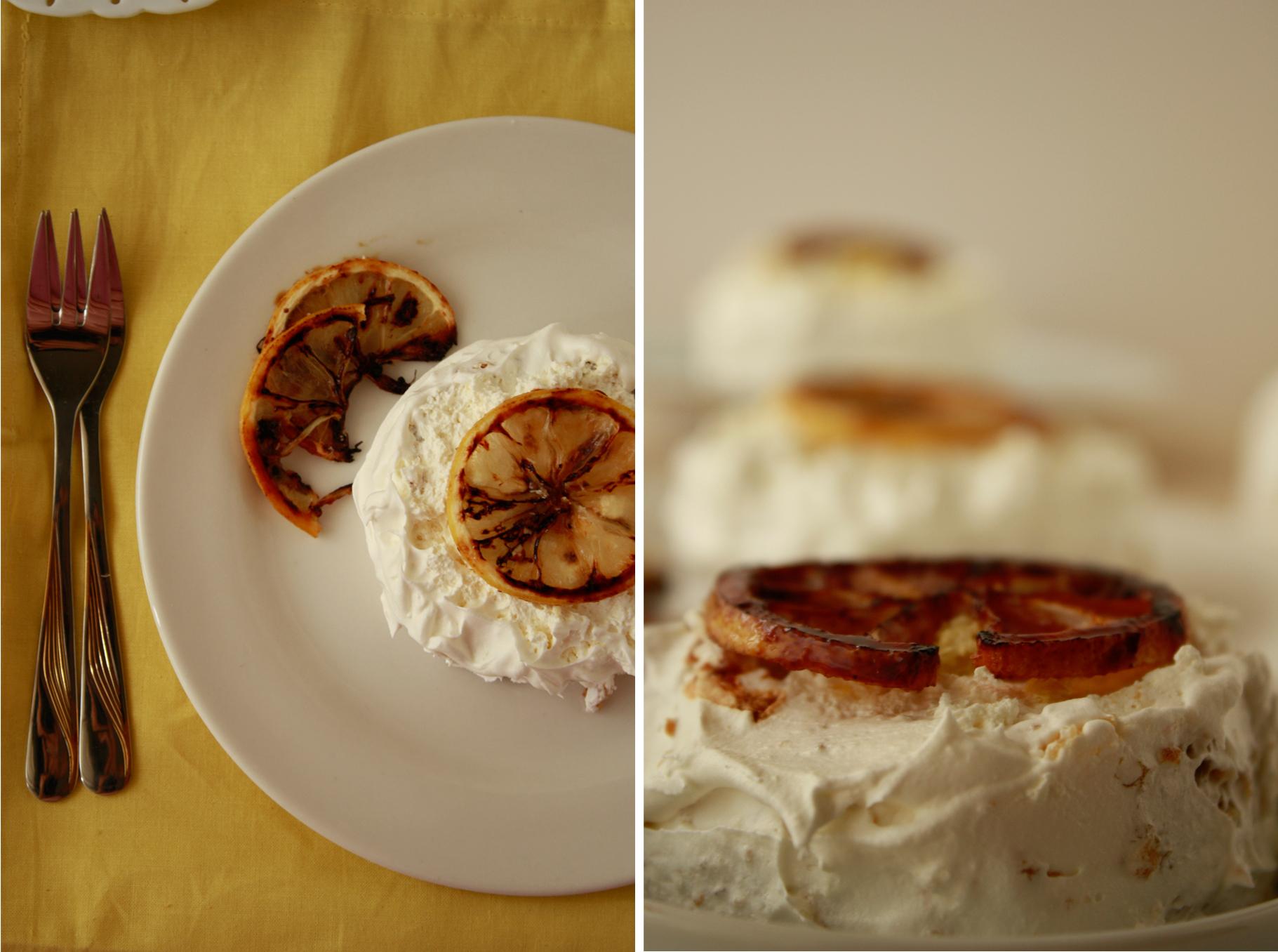 Petite Lemon Cake Eggless Veggiezest