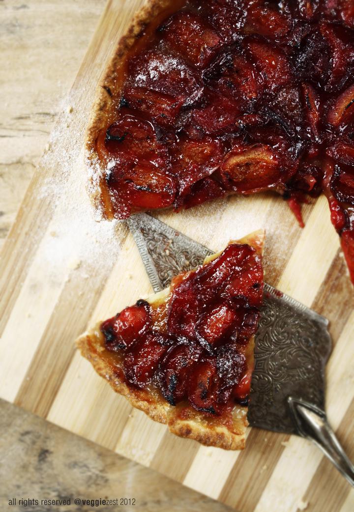 Fresh Plum Frangipane Tart Recipes — Dishmaps