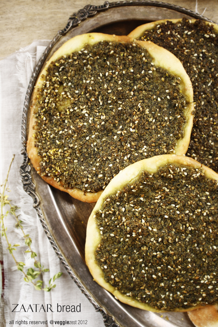Manakish Zaatar Recipe — Dishmaps