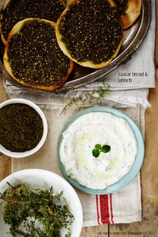 Za'atar Manakish or Zaatar Bread is a simple Arabic recipe – which ...