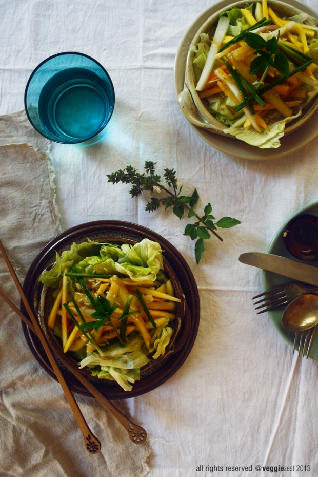 Green papaya & mango salad