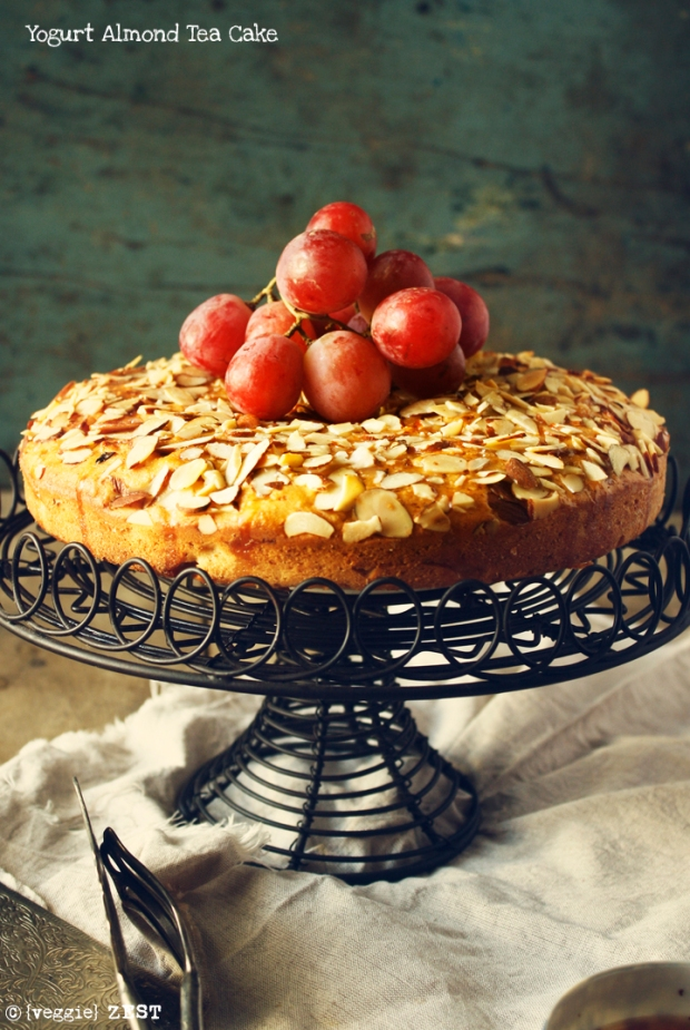 Yogurt Almond Cake