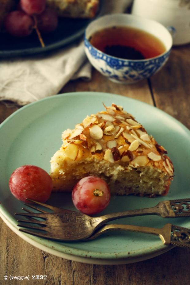 Yogurt Almond Cake