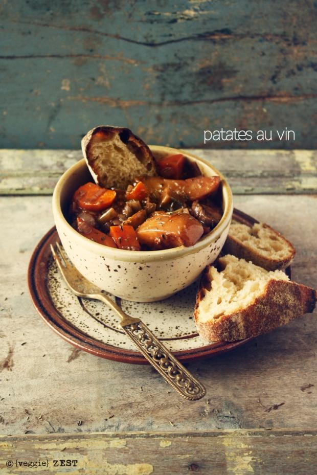 Patates Au Vin