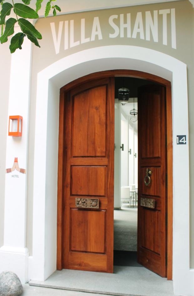 Entrance_villa Shanti