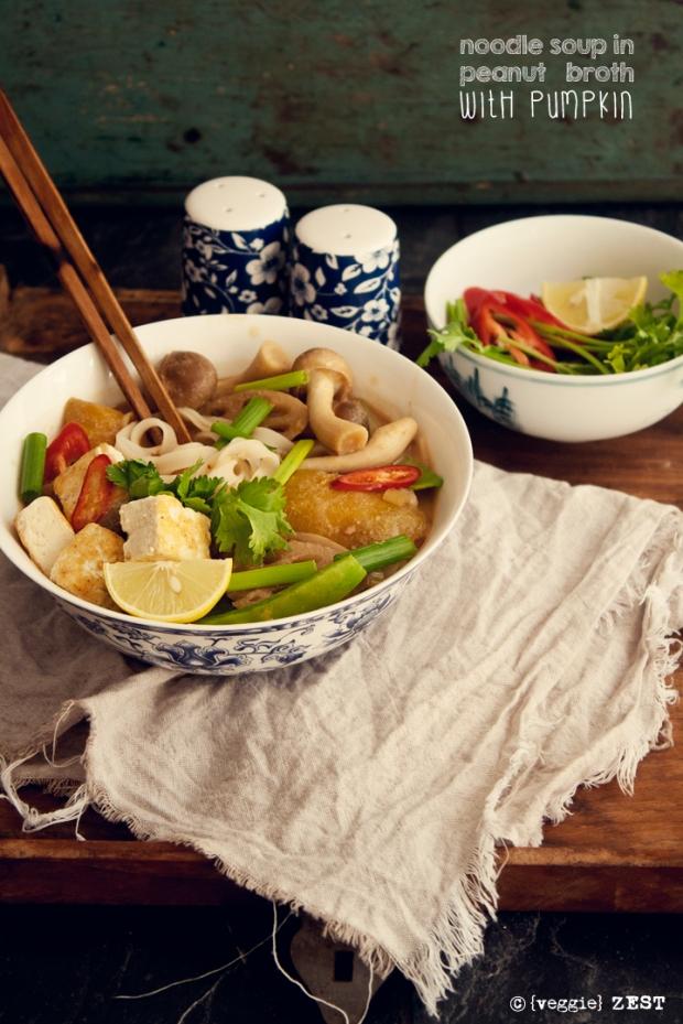 Noodle Peanut Soup