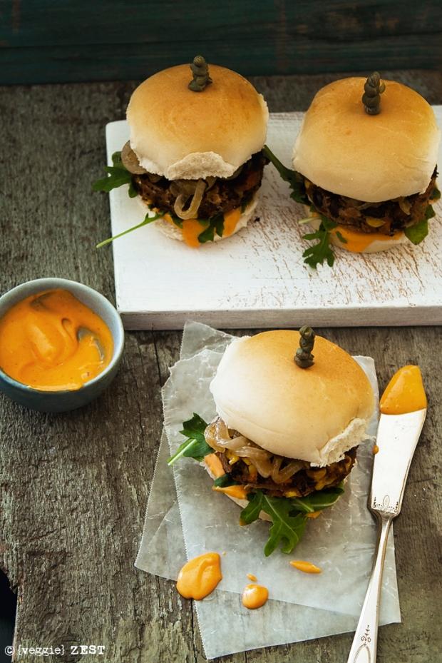 Lentil Burgers3