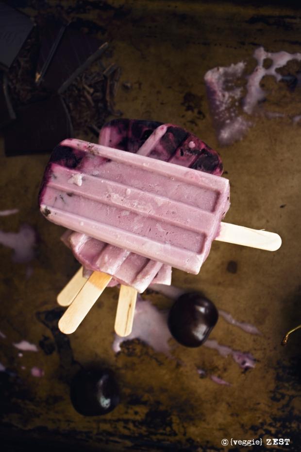 Cherry Garcia Popsicle 4