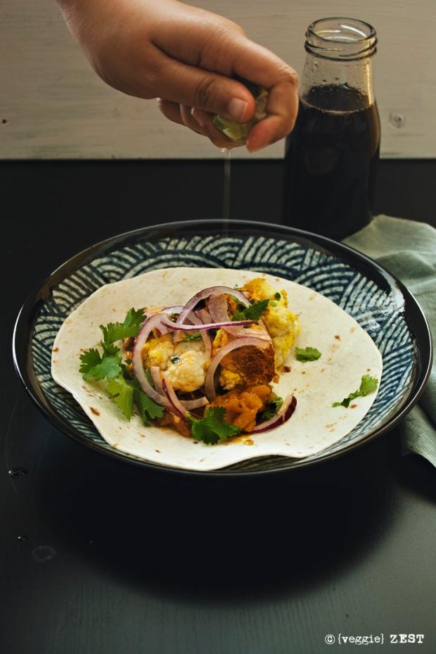 Tandoori Cauliflower Taco 3