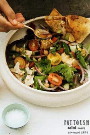 Fattoush Salad 2