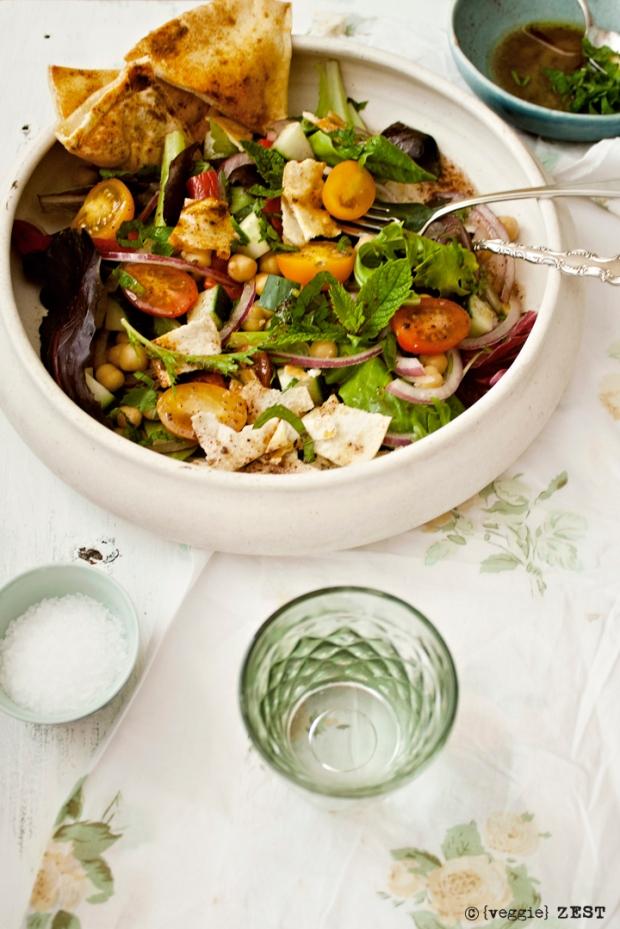Fattoush Salad 4