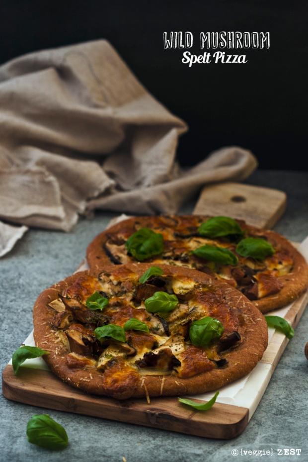 veggie-zest-wild-mushroom-pizza